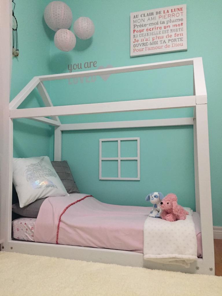 Diy Toddler Bed My Tweet Life